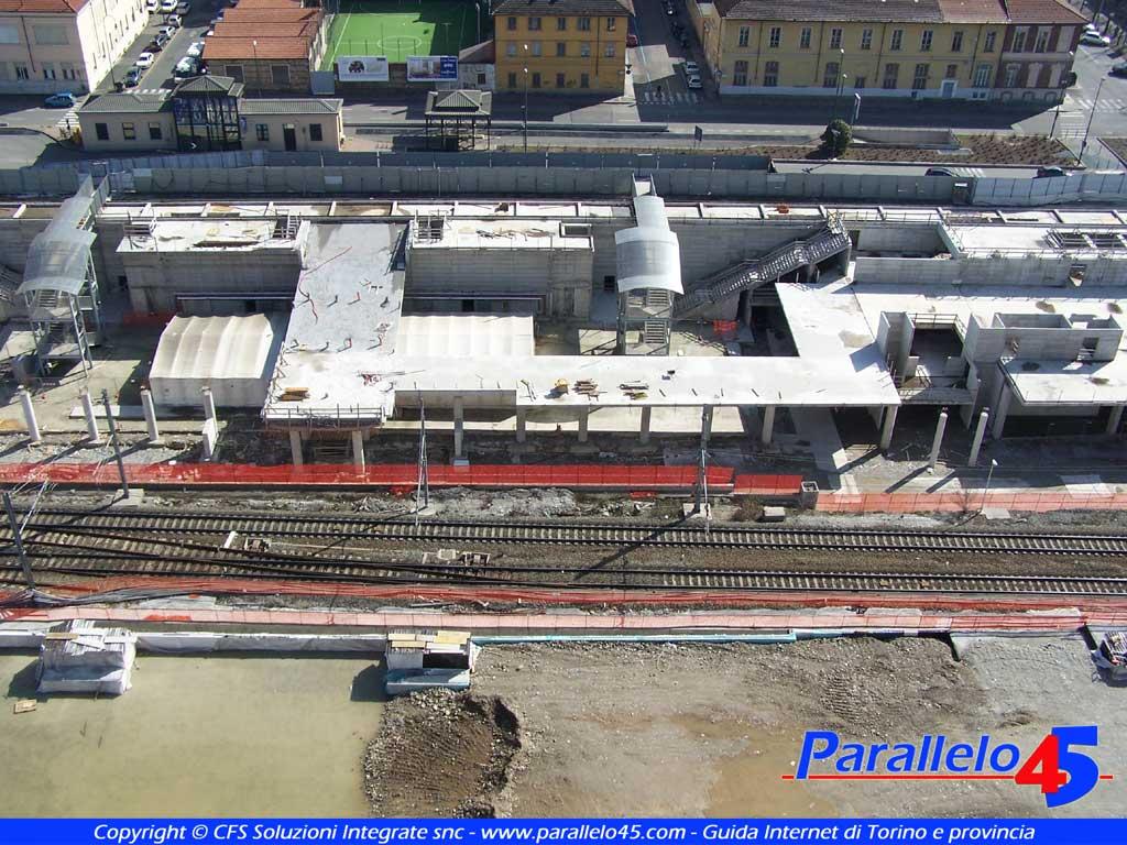 Torino cantiere della nuova stazione di porta susa - Torino porta susa porta nuova ...